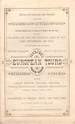 Tourjee's European Tours, Fourth Season