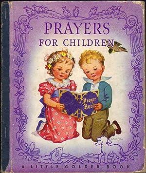 A Little Golden Book; Prayers for Children: Artist & Writers