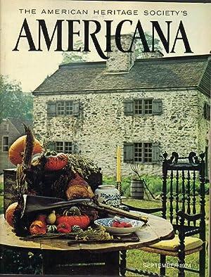 The American Heritage Society's Americana: September 1974: Durham, Michael (editor);