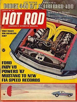Hot Rod: February, 1967: McFarland, Jim (editor)