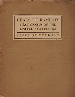 Heads of Families: First Census of the United States: 1790: State of Vermont