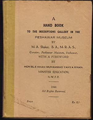 A Hand Book to the Inscriptions Gallery: Shakur, M. (by);