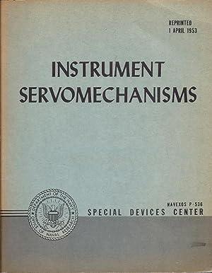 Instrument Servomechanisms Dynamic Analysis and Conrol Laborartory.: deerhake, William J.