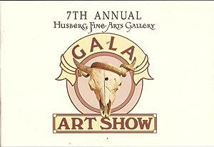 7th Annual Husberg Fine Arts Gallery Gala Art Show Winter 1997 98 AS NEW: Husberg, Sheila et al