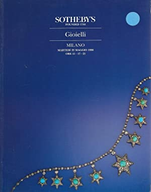 Sotheby's Milano Gioielli 22 Maggio 1990 auc: Sotheby's, Messrs.