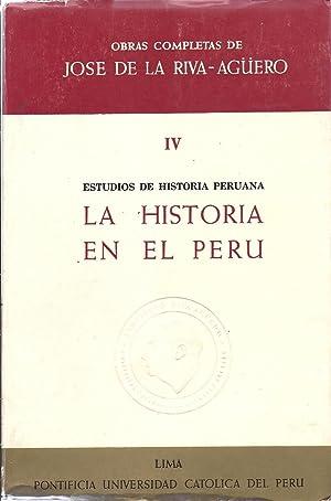 Obras Completas de Jose de la Riva-Aguero: Riva-Aguero y Osma,