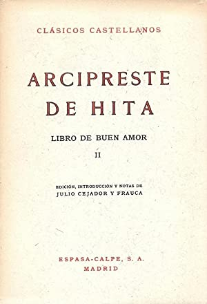 Arcipreste de Hita Libro de Buen Amor: Ruiz, Juan y