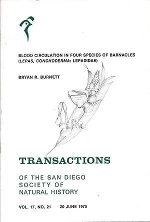 Transactions San Diego Society Natural History