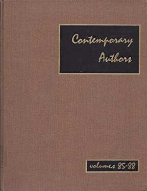 Contemporary Authors A Bio-Bibliographical Guide To Current Writers In Fiction, General Nonfictio...