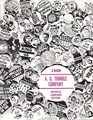 1968 Political Campaign Buttons OVERSIZE: Trimble, A. G. Company