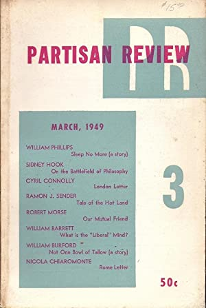 Partisan Review Volume XVI, Number 3, March 1949