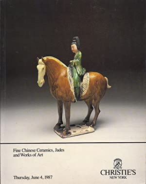 Fine Chinese Ceramics, Jades and Works of: Tow, Theow-Huang, et