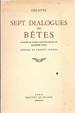Sept Dialogues de Betes Illustres de Quarte-Vingt-Dix: Colette
