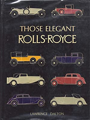 Those Elegant Rolls Royce kk: Dalton, Lawrence
