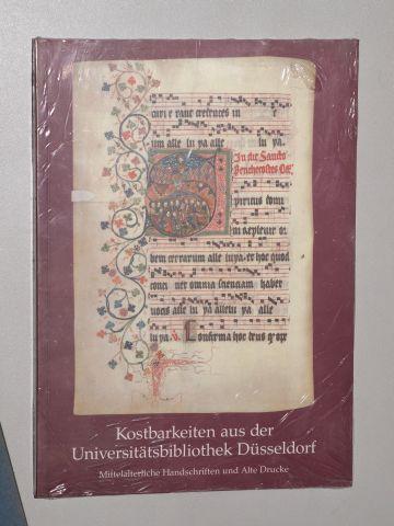 Kostbarkeiten aus der Universitätsbibliothek Düsseldorf. Mittelalterliche Handschriften: Gattermann, Günter [Hrsg.]: