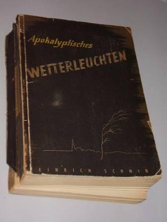 Apokalyptisches Wetterleuchten. Ein Beitrag der Evangelischen Kirche: Schmid, Heinrich: