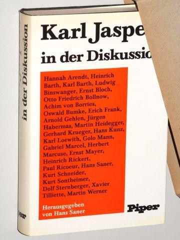 Karl Jaspers in der Diskussion.: Jaspers.- Saner, Hans