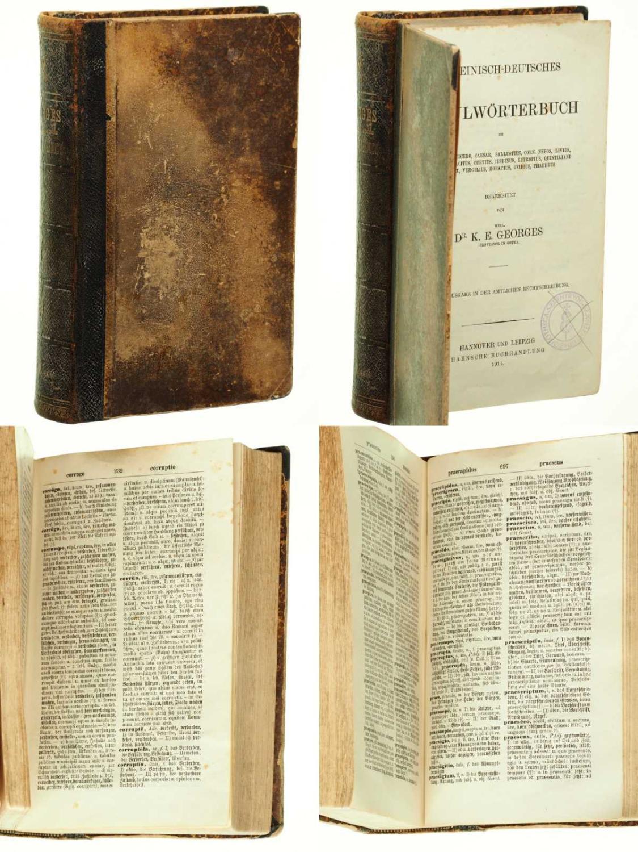 Lateinisch-deutsches Schulwörterbuch.: Georges, Karl Ernst: