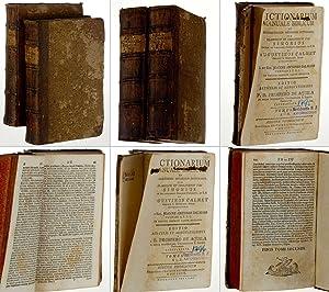 Dictionarium Manuale Biblicum. ex celebratissimis potissimum dictionariis,