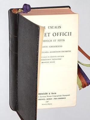 Liber usualis Missae et Officii pro Dominicis