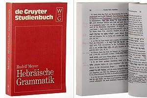Hebräische Grammatik. Mit einem bibliogr. Nachw. von: Meyer, Rudolf: