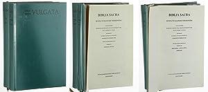 Biblia Sacra iuxta Vulgatam versionem. Adiuv. Bonif.: Bibel, AT und