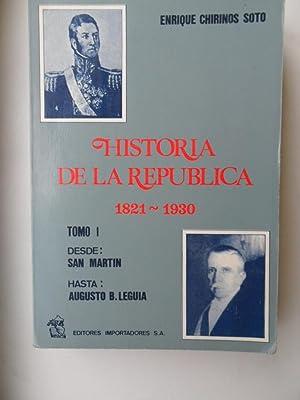 Historia De La Republica: Chirinos Enrique Soto