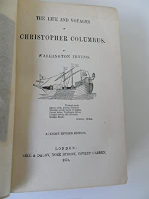 The Life and Voyages of Christopher Columbus: Irving Washington