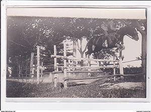 Carte postale ancienne St-CYPRIEN : domaine des capeillans, carte photo concours hippique
