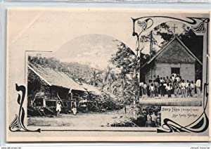 Carte postale ancienne PAPOUASIE Nlle GUINEE : drop faan