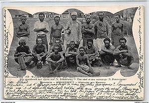 Carte postale ancienne PACIFIQUE : borgerhout, seminaire des missions, new pomeranie