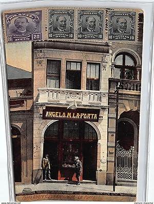 Carte postale ancienne BRESIL : angelo M. la porta