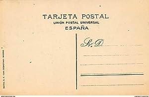 Carte postale ancienne ESPAGNE : publicité autommobile citroen, 6 cards