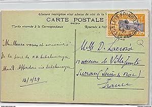 Carte postale ancienne LA REUNION : st-denis eglise st-jacques (jour de procession)