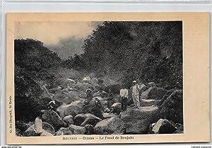 Carte postale ancienne LA REUNION : cilaos, le fond de benjoin