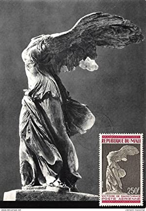 Carte postale ancienne CARTE MAXIMUM : sculpture