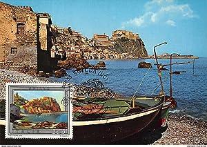 Carte postale ancienne CARTE MAXIMUM : scilla