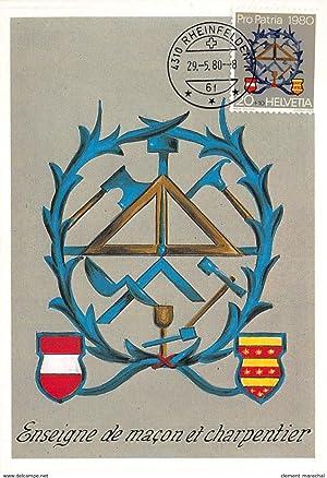 Carte postale ancienne CARTE MAXIMUM : enseigne