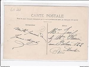 Carte postale ancienne BYANS : la gare