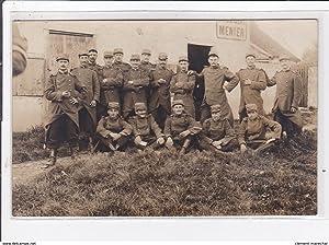 Carte postale ancienne ARS-sur-TILLE : militaires