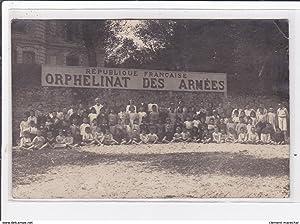 Carte postale ancienne LE POULIGUEN : republique francaise orphelinat des armées
