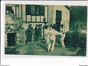 Carte postale ancienne GUETHARY : danseurs basques,