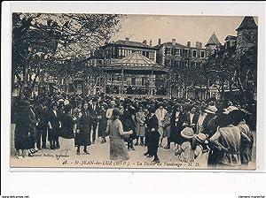 Carte postale ancienne SAINT-JEAN-de-LUZ : la danse