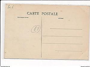Carte postale ancienne MAGNAC-LAVAL : procession annuelle de neuf-lieux petit dejeuner à faye à ...