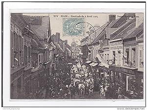 Carte postale ancienne HAM : cavalcade du 2 avril 1905