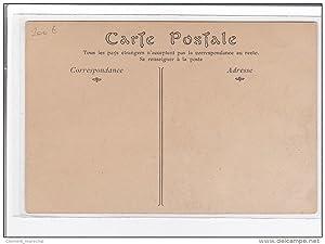Carte postale ancienne EN BEAUCE : le battage du grain