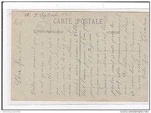 Carte postale ancienne FONTVANNES : la gare (GARE)