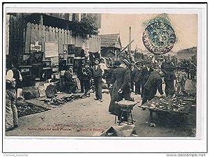 Carte postale ancienne SAINT OUEN : Notre marché aux Puces - La section peinture