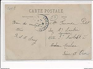 Carte postale ancienne VERNON - Fête des Fleurs du 7 Juin 1908