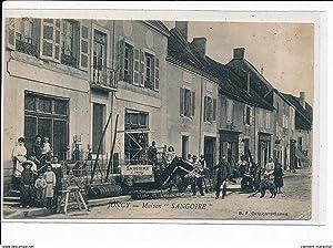 Carte postale ancienne JONCY - Maison Sangoire